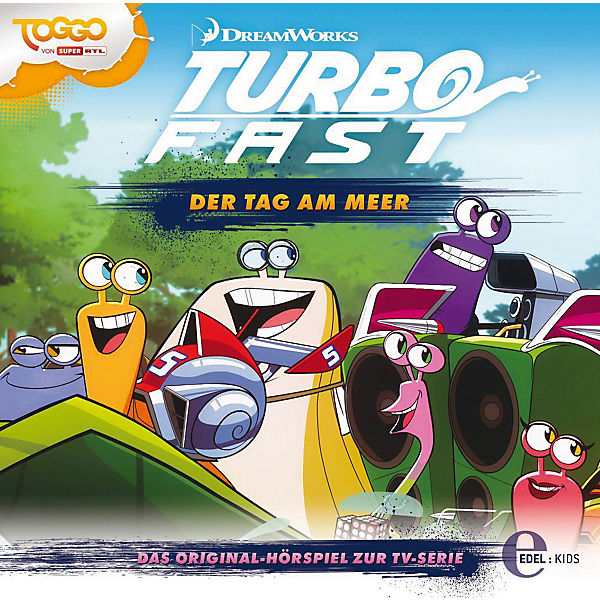 CD Turbo Fast 04 - Der Tag am Meer
