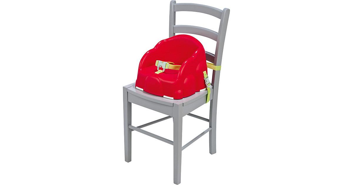 Babystuhlsitz Easy Booster, red dot rot