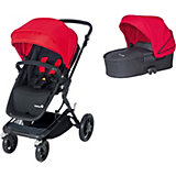 Kombi-Kinderwagen Kokoon Comfort Set, Plain Red, 2015