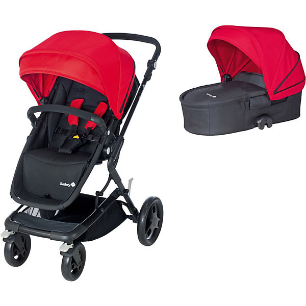 Kombi Kinderwagen Kokoon Comfort Set, Plain Red, 2015