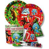 """Набор """"Новый Год!"""" на 6 персон (в ассортименте), Маша и медведь"""
