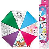 """Зонтик для раскрашивания Принцессы Дисней """"Королевские питомцы"""", Оригами"""