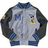 DISNEY MICKEY MOUSE & FRIENDS Collegejacke für Jungen