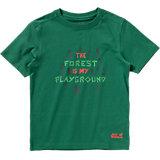 JACK WOLFSKIN T-Shirt PLAYGROUND T für Jungen, organic Cotton