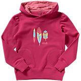 JACK WOLFSKIN Sweatshirt FOLIAGE OC HOODY für Mädchen, organic Cotton