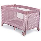 Манеж-кровать Martin, Happy Baby, розовый
