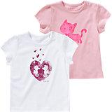 ESPRIT Baby T-Shirt Doppelpack für Mädchen