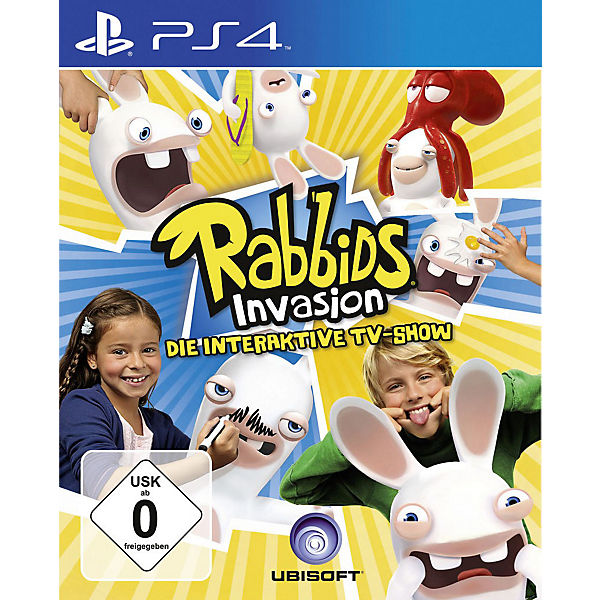PS4 Rabbids Invasion - Die interaktive TV-Show