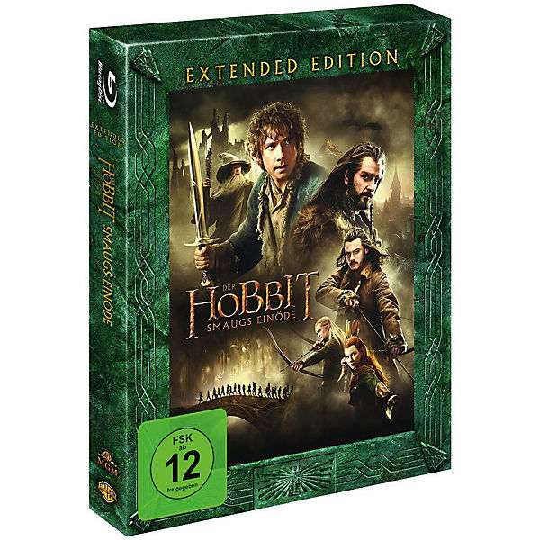 BLU-RAY Der Hobbit - Smaugs Einöde (Extended Edition)