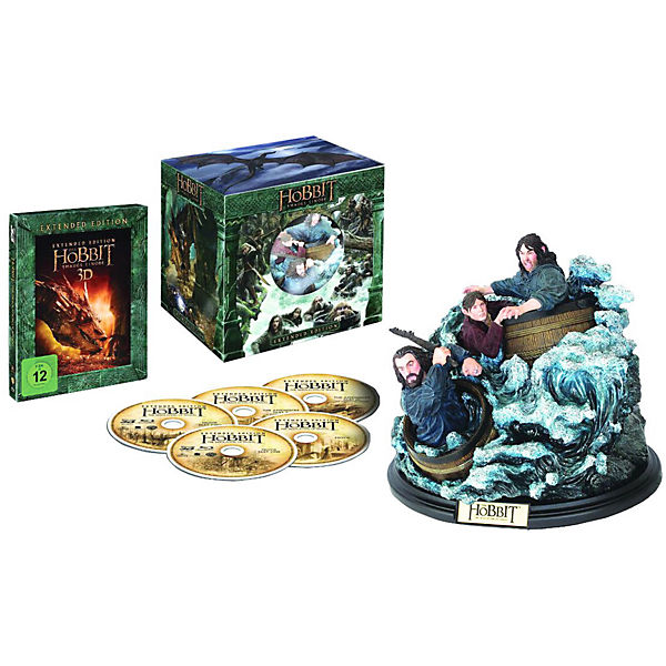 BLU-RAY Der Hobbit - Smaugs Einöde 3D (Extended Collectors)