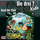 CD Die Drei ??? Kids 41 - Insel der Haie