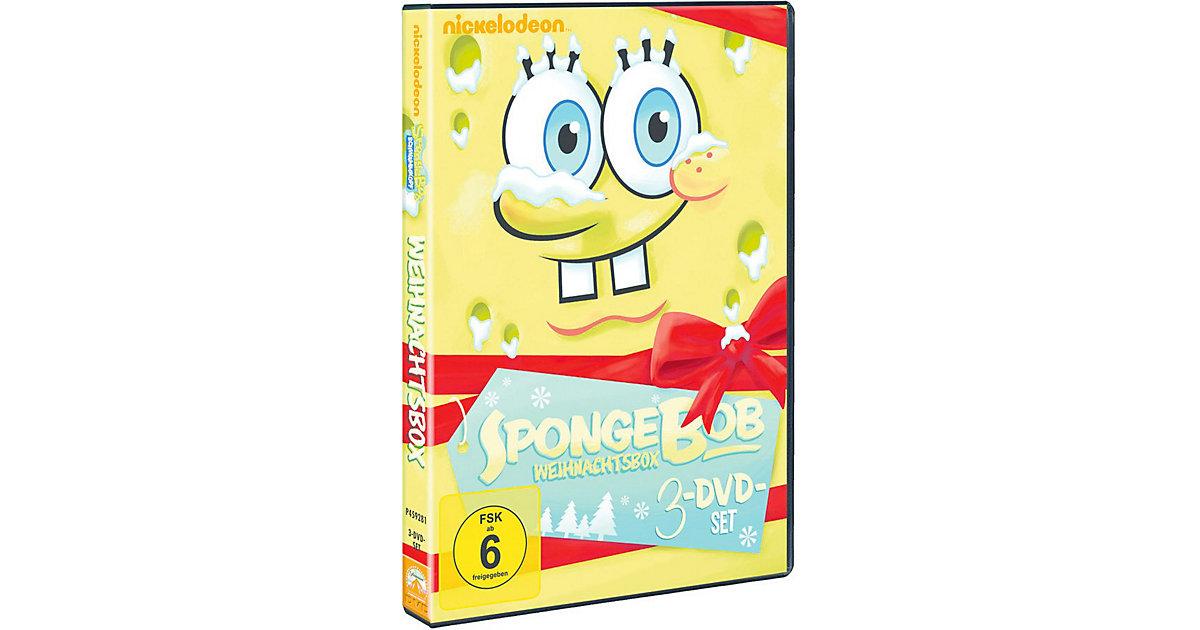 DVD SpongeBob Schwammkopf - Weihnachtsbox
