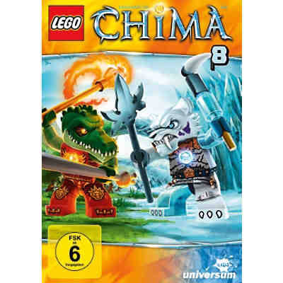 DVD LEGO: Legends of Chima 08