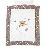 Bettwäsche Little Bear, beige, 100 x 135 cm