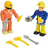 Feuerwehrmann Sam Figuren Doppelpack, Elvis+Tom