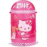 """Корзина для игрушек """"Играем вместе"""" Hello Kitty, Умка"""