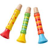 Trompete Holz, 3 Stück