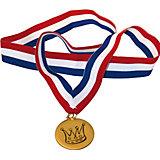 Medaille Metall, 3 Stück