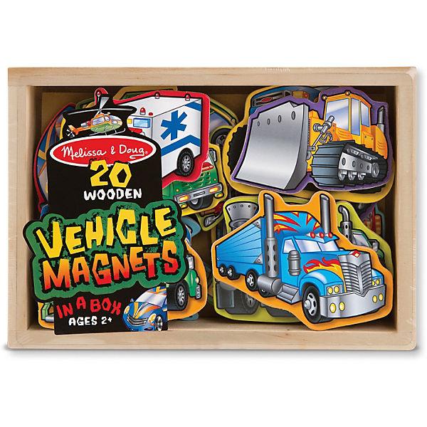 """Магнитная игра """"Автомобили"""", Melissa & Doug"""