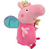 """Мягкая игрушка """"Пеппа-Фея с палочкой"""", 50см., Свинка Пеппа"""