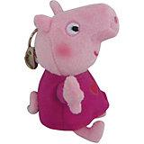 """Мягкая игрушка """"Пеппа"""", 12 см с брелоком, Свинка Пеппа"""