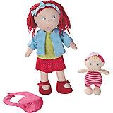 HABA 301525 Puppe Rubina mit Baby