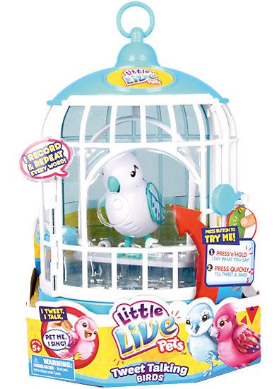 Little live pets s vogel cage singender sammy boti mytoys
