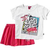MONSTER HIGH Kinder Set T-Shirt + Rock