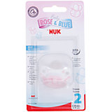 Силиконовая пустышка Baby Rose, 6-18 мес., NUK, нежно-розовый