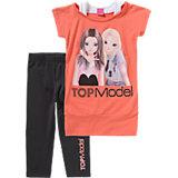 TOP MODEL Set T-Shirt und Leggings für Mädchen