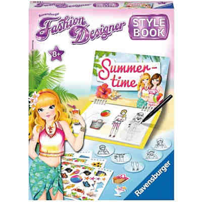 Fashion Designer Stylebook Summer Time