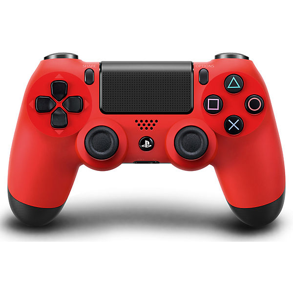 PS4 Dualshock Wireless Controller - rot