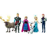 """Куклы - герои м/ф """"Холодное сердце"""" (Анна, Эльза, Олаф, Кристоф, Ханс, Свен), Принцессы Дисней"""