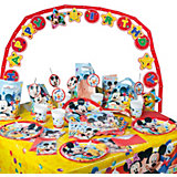 Partyset Playful Mickey Mouse, 56-tlg.