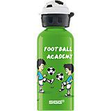 Alu-Trinkflasche Football Academy, 400 ml