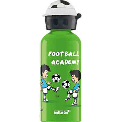 Alu-Trinkflasche Football Academy, 400 ml