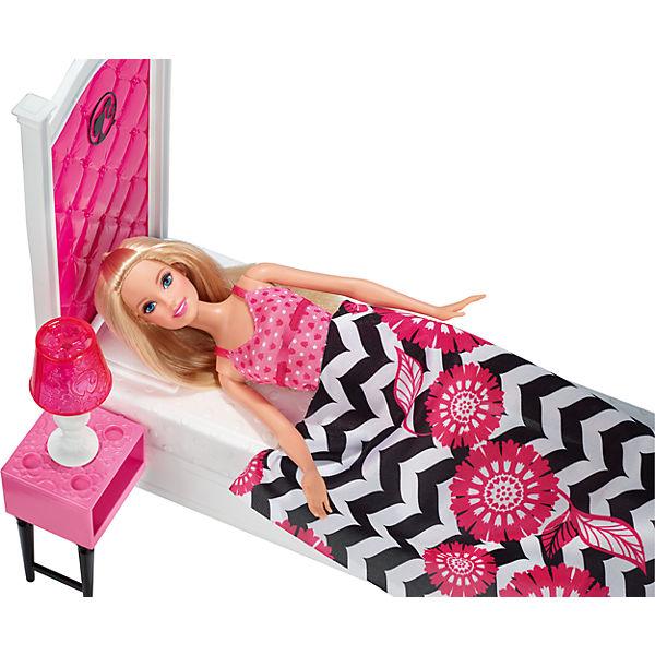 """Кукла + Комплект мебели """"Роскошная спальня"""", Barbie"""