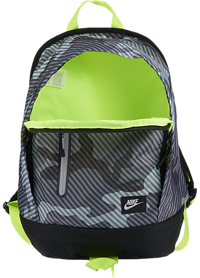 nike rucksack f r kinder nike grau mytoys. Black Bedroom Furniture Sets. Home Design Ideas