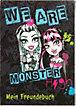 Freundebuch A5 Monster High