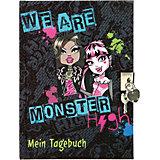 Tagebuch mit Schloss A5 Monster High