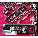 Schulset Monster High, 8-tlg.
