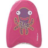 SPEEDO Kickboard SEA SQUAD für Mädchen, pink