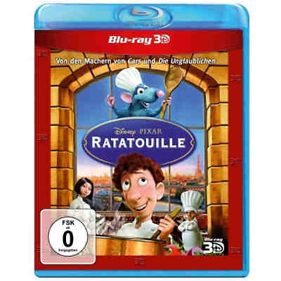 BLU-RAY Ratatouille - 3D Superset (3D BD + 2D BD)