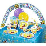 Partyset SpongeBob, 64-tlg.