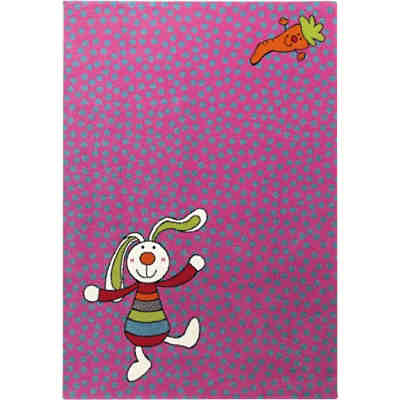 Kinderteppich Rainbow Rabbit