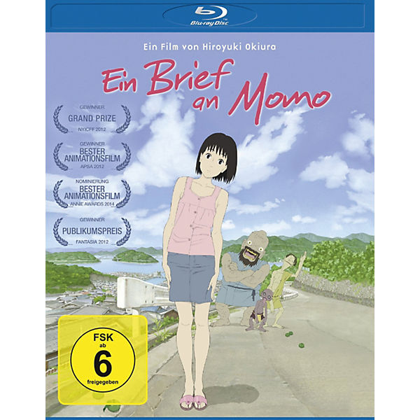 BLU-RAY Ein Brief an Momo