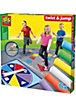 Creative Straßenkreidespiel Twist & jump