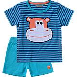 TRICKY TRACKS Baby Set Shorts + T-Shirt für Jungen
