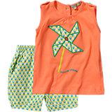 TRICKY TRACKS Baby Set Shorts + Top für Mädchen