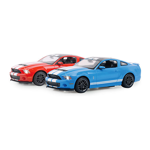 jamara rc auto ford shelby gt500 1 14 27 mhz blau. Black Bedroom Furniture Sets. Home Design Ideas